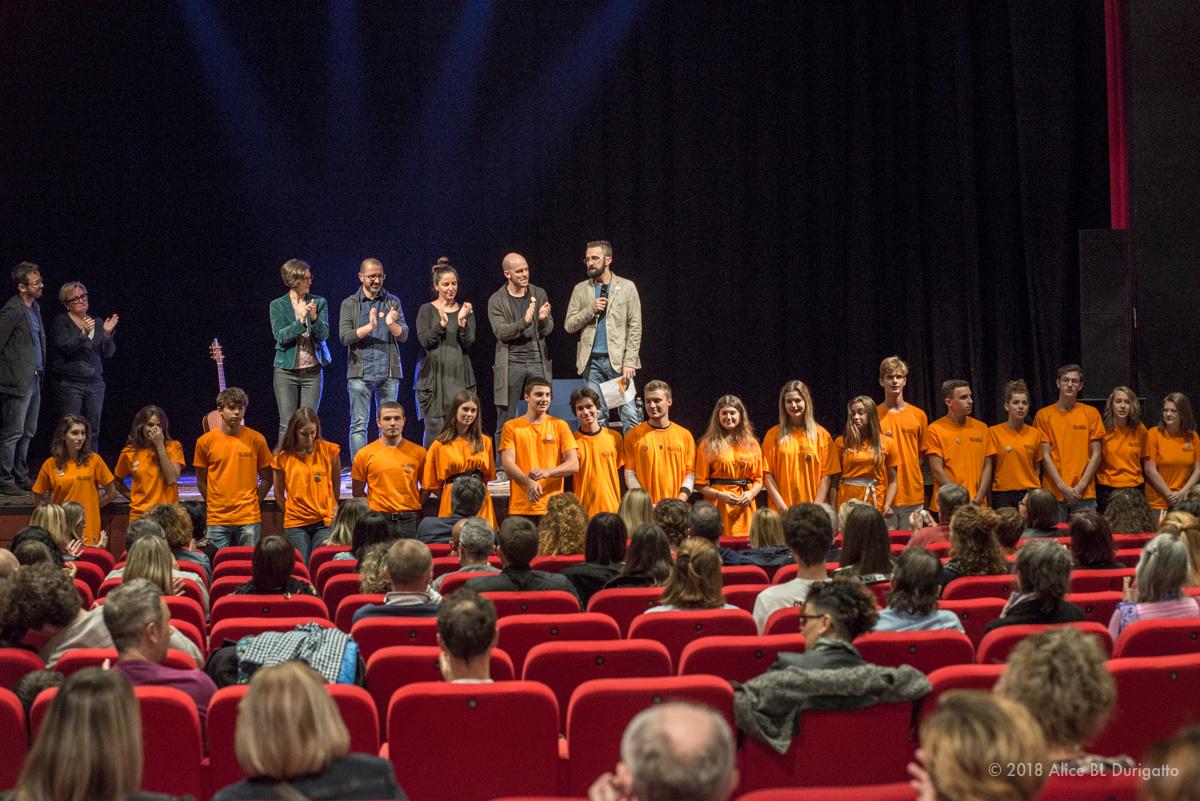 FESTIVAL DEL CORAGGIO 2018 - Ringraziamenti e saluti in chiusura