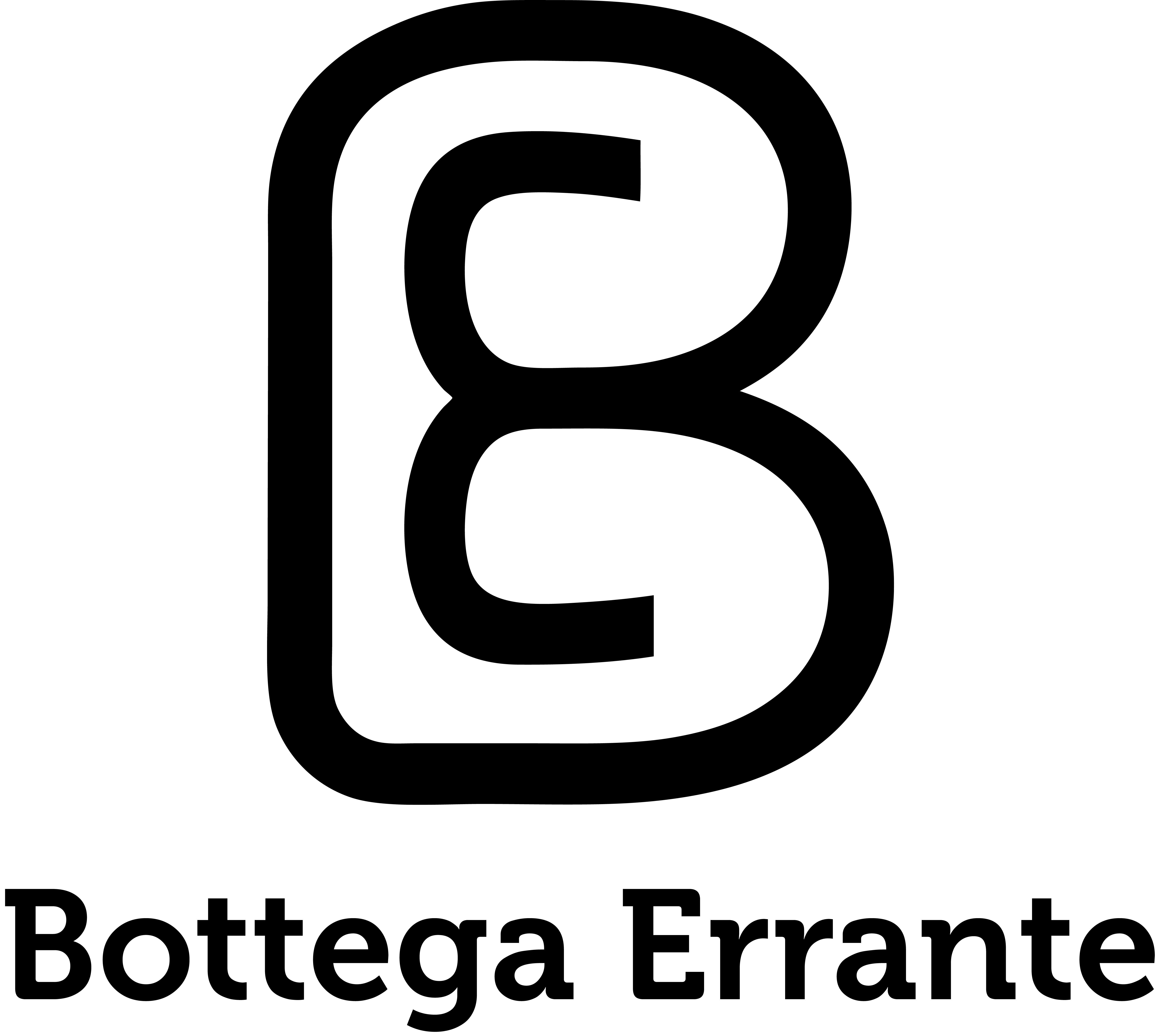 LOGO_Bottega Errante_black OK
